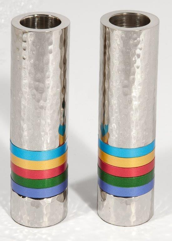 זוג פמוטים -גליל טבעות צבעוני-1